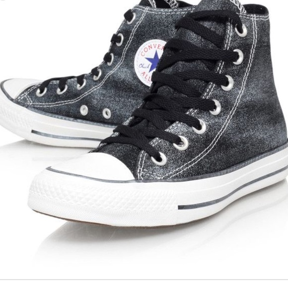 411a49933bf1 Converse Other - Chuck Taylor All Star Sparkle Wash High Top Shoe